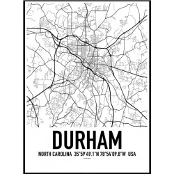 Durham NC Map