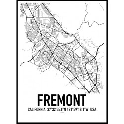 Fremont Map Poster