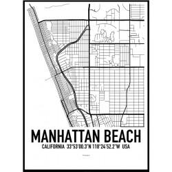 Manhattan Beach Map