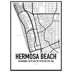 Hermosa Beach Map