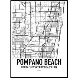 Pompano Beach Map