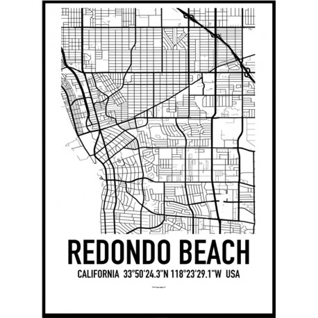 Redondo Beach Map