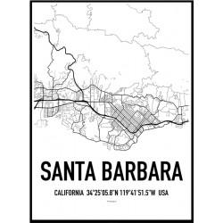 Santa Barbara Map