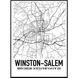 Winston-Salem Map