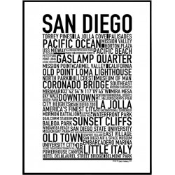 San Diego Poster