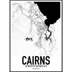 Cairns Map Poster