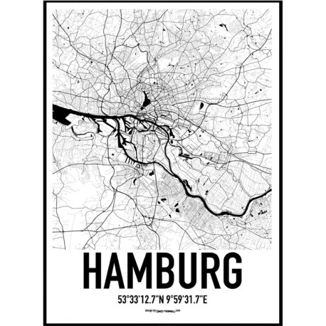 Hamburg Germany Poster