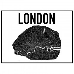 Map London Poster