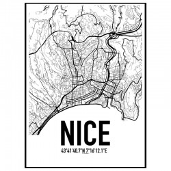 Nice Map Poster