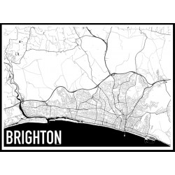 Brighton Map Poster