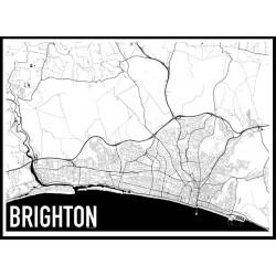 Brighton Map Poster