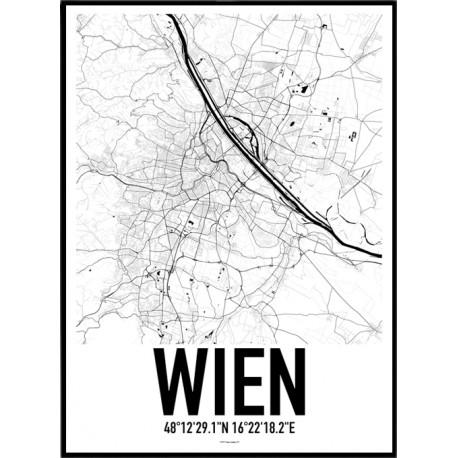 Wien Map Poster