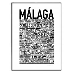 Málaga Poster