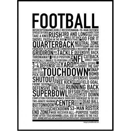 Football Poster