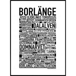 Borlänge Poster