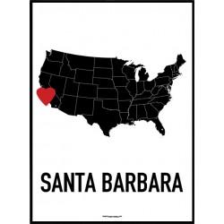Santa Barbara Heart