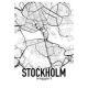 Stockholm Map Poster
