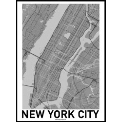 NYC Map Poster
