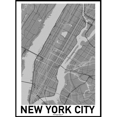 Nyc Map Poster Find Your Posters At Wallstars Online Shop Today