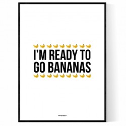 Go Bananas Poster