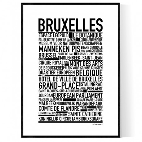 Brussel Poster