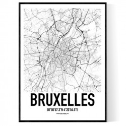 Brussels Map