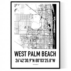 West Palm Beach Map