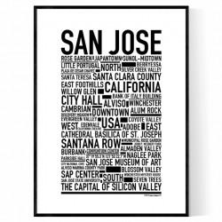 San Jose Poster