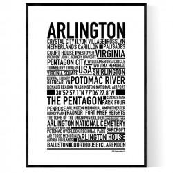 Arlington VA Poster