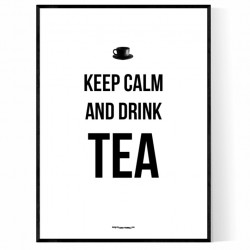 Captivating Drink Tea Poster