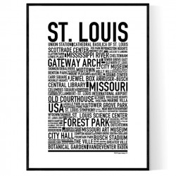 St. Louis Poster
