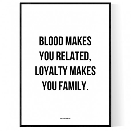 Loyalty Family Poster