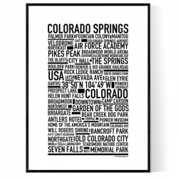 Colorado Springs Poster