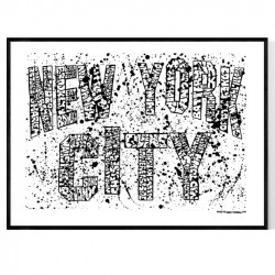 NYC Graffiti 1 Poster