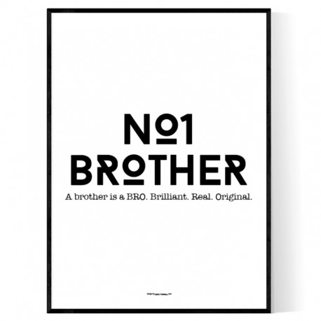 No1 Brother Print