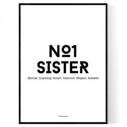 No1 Sister Print