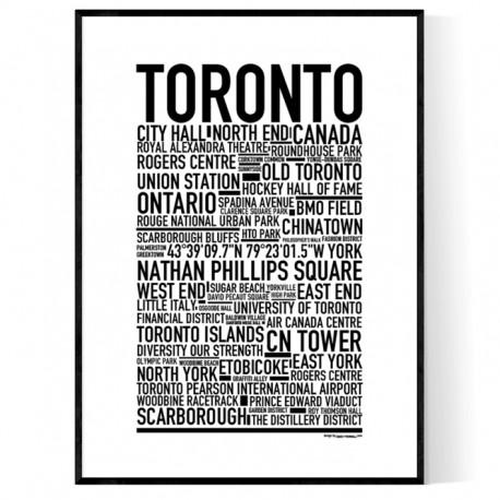 Toronto poster