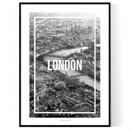 London Frame Poster