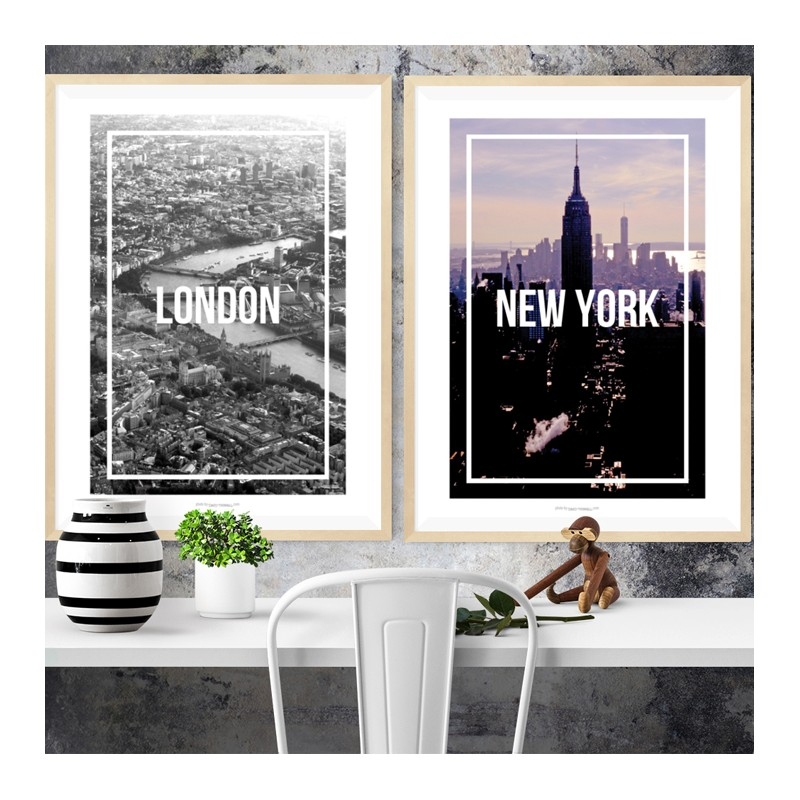 New York Frame Poster. Find your posters at Wallstars Online. Shop ...
