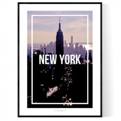 New York Frame Poster