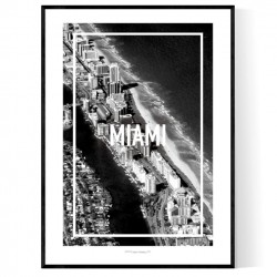 Miami Frame Poster
