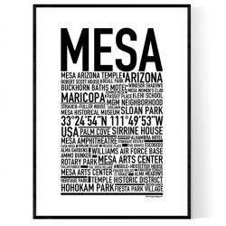 Mesa Poster