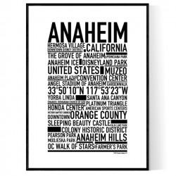 Anaheim Poster
