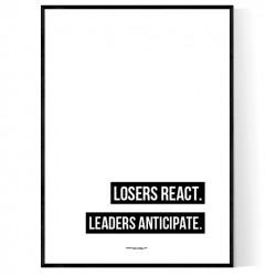 Leaders Anticipate Poster