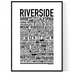 Riverside Poster