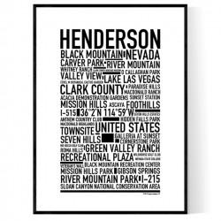 Henderson Poster