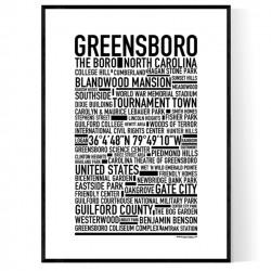 Greensboro Poster