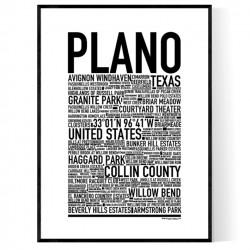 Plano Poster