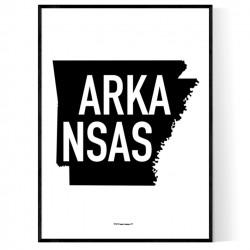 State Of Arkansas Poster