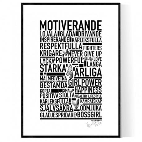 Hanna Öberg's Official Motivational Poster